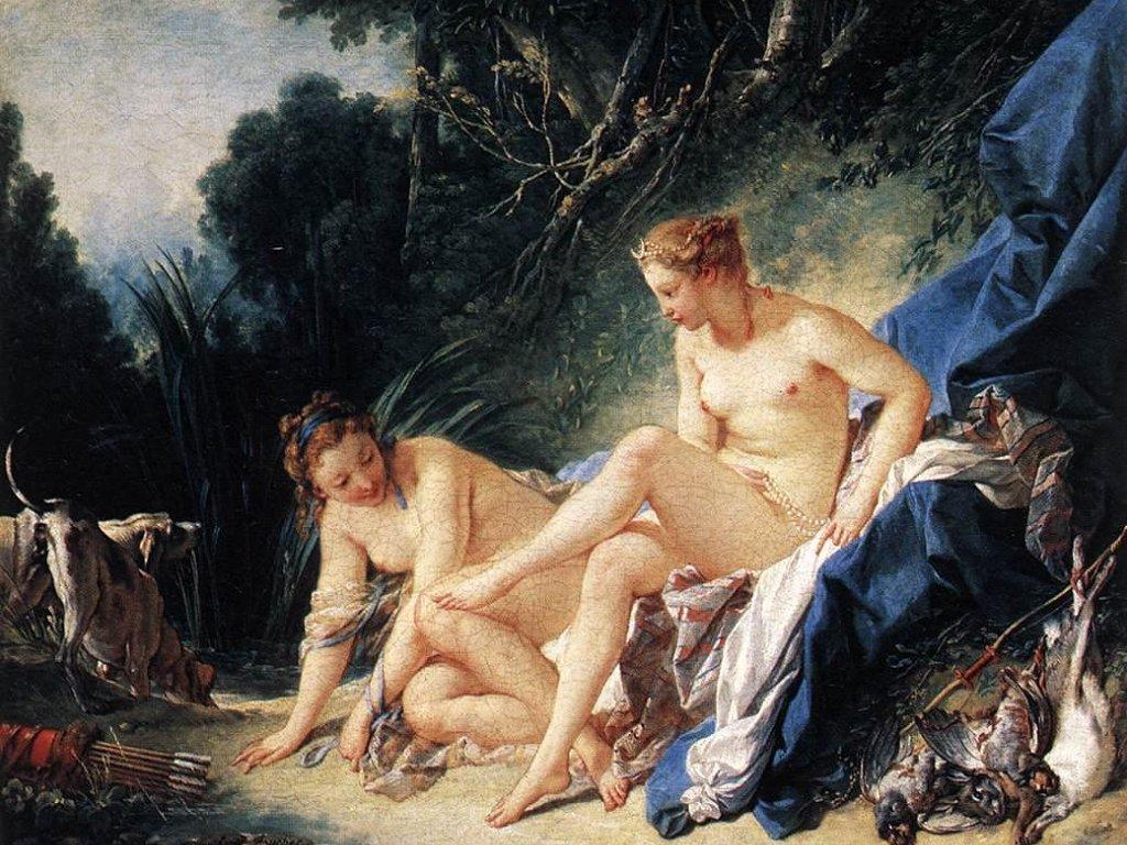 Diana riposa dopo il suo bagno (1024x768 - 196 KB)