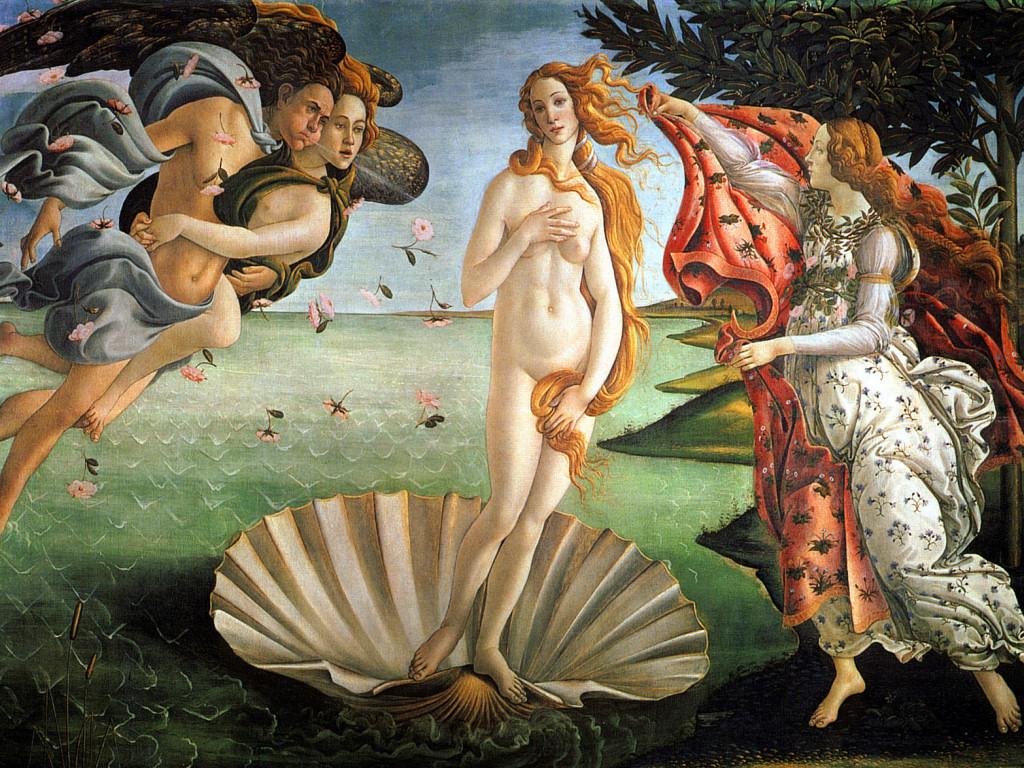 La nascita di Venere (1024x768 - 438 KB)