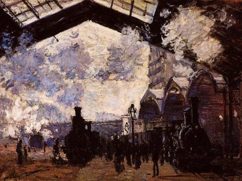 La stazione di Saint-Lazare (800x600 - 150 KB)