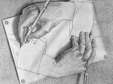 Mani che disegnano