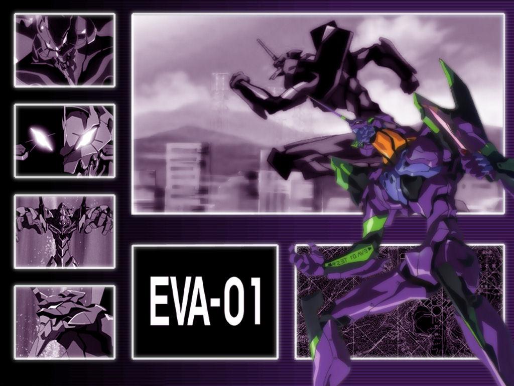 Neon Genesis Evangelion (1024x768 - 140 KB)