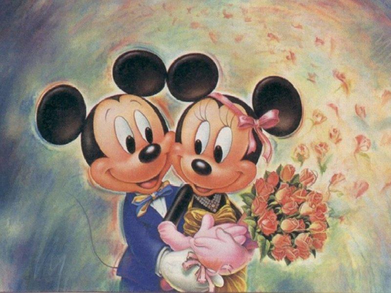 Cartoni animati topolino e minnie u migliori pagine da colorare
