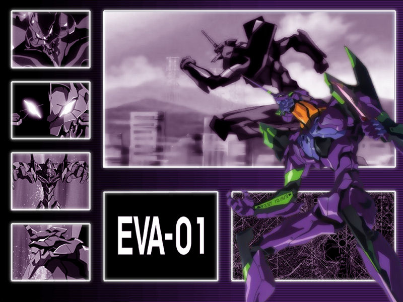 Neon Genesis Evangelion (800x600 - 100 KB)