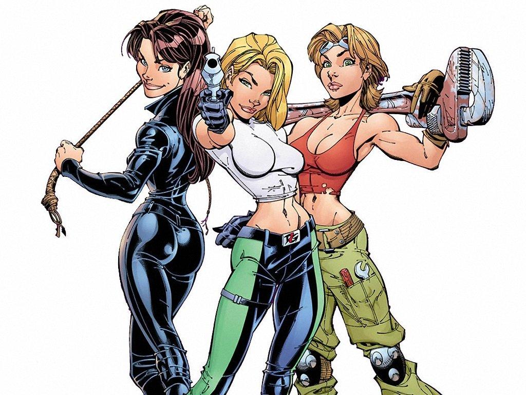 Danger Girls (1024x768 - 178 KB)