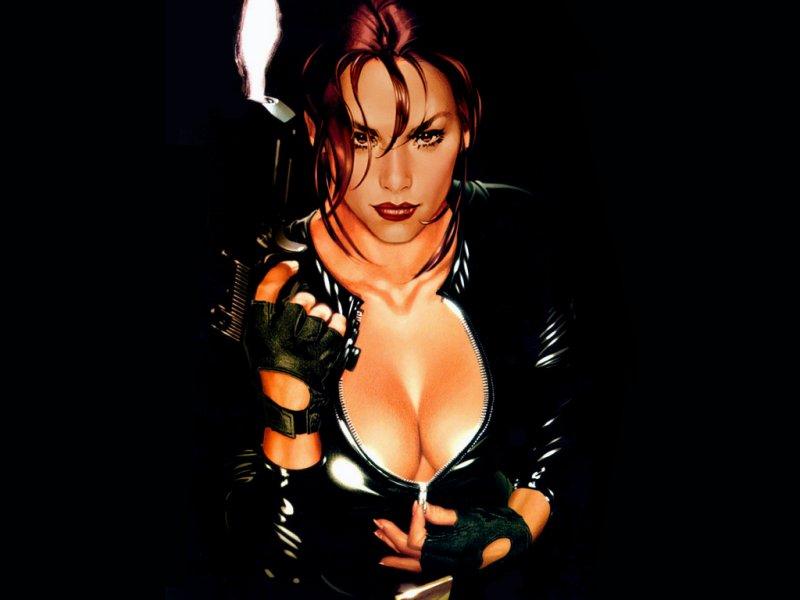 Lara Croft (800x600 - 43 KB)