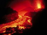 Vulcano in eruzione